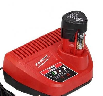 Зарядное устройство KNF для электроинструмента MILWAUKEE C12 C (4932352000) N12 10,8V-12V