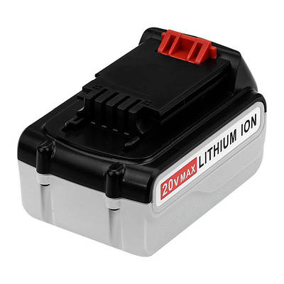 Аккумулятор KNF для шуруповерта BlackDecker 4 Ah 20 V LB20, LBX20, LBXR20, LB2X4020,SL186K, ASL188K, BDCDMT12
