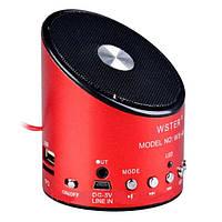 WSTER WS-A9 – многофункциональная компактная активная акустическая система с FM радиоприемником и функцией MP3, фото 1
