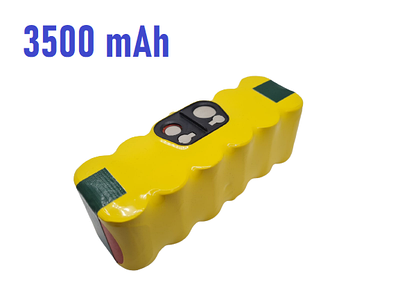 АКБ KNF X Life для iRobot Roomba 500 / 600 / 700 / 800 / 900 серии 3500mAh 14.4V желтый