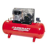 Компрессор высокого давления 15bar, 300л, 858л/мин, 380В, 5,5кВт AIRKRAFT AK300-15BAR-858-380