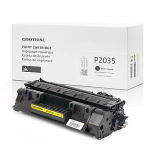 Картридж совместимый HP LaserJet P2035 (P2035n), 2.300 копий, аналог от Gravitone