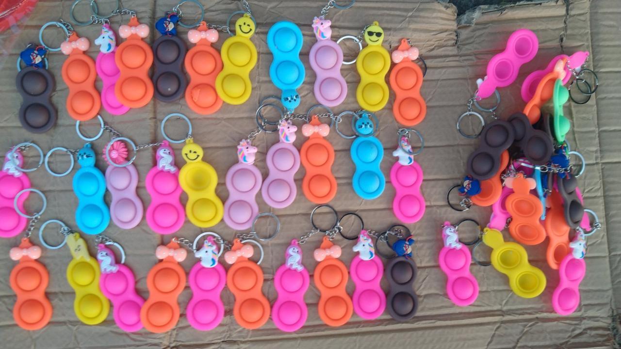 ОПТ!!! Антистресс Simple Dimple двойной разные цвета!