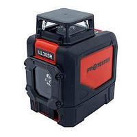 Лазерный построитель плоскостей H360°/1V (красный луч) PROTESTER LL305R