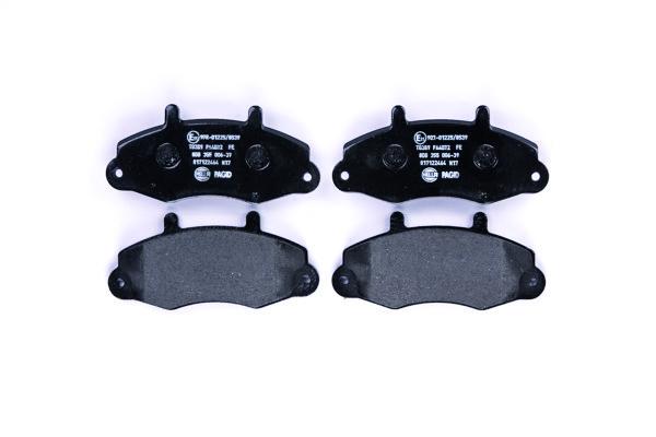 Тормозні колодки передні Ford  Transit  1992 - 2000р.  R14