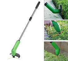Газонокосилка Ручная на батарейках | Ручная беспроводная газонокосилка | Триммер для травы