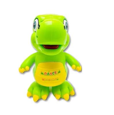 Музыкальный динозавр танцор Geoby Зеленый