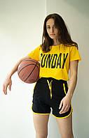 Жіночий костюм, шорти з футболкою М/44-46р, фото 1