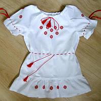Платье для девочки вышитое, недорого