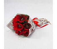 Букет из конфет 9 Алые цветы 4106IT