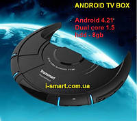 Android TV Box + Android 4.2 Amlogic cpu-Dual Core 1G 8G RJ45 HDMI , фото 1