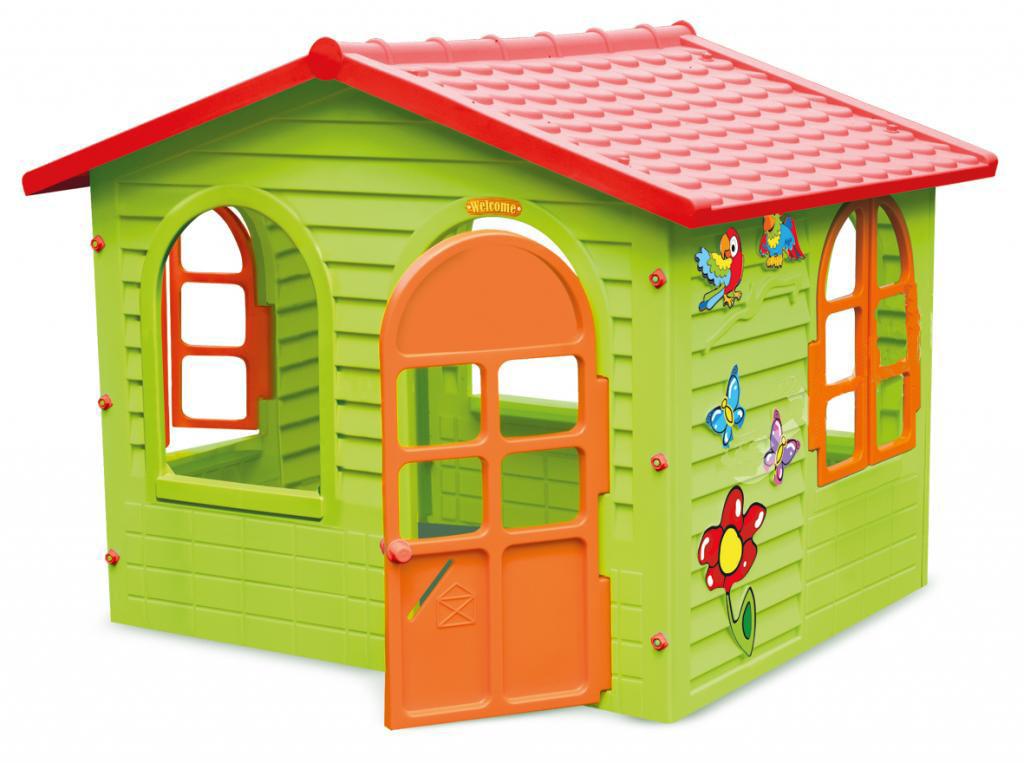 Дитячий ігровий будиночок пластиковий садовий Mochtoys 10425