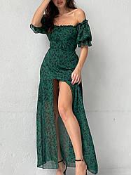 Платье Шифоновое макси 5519,30