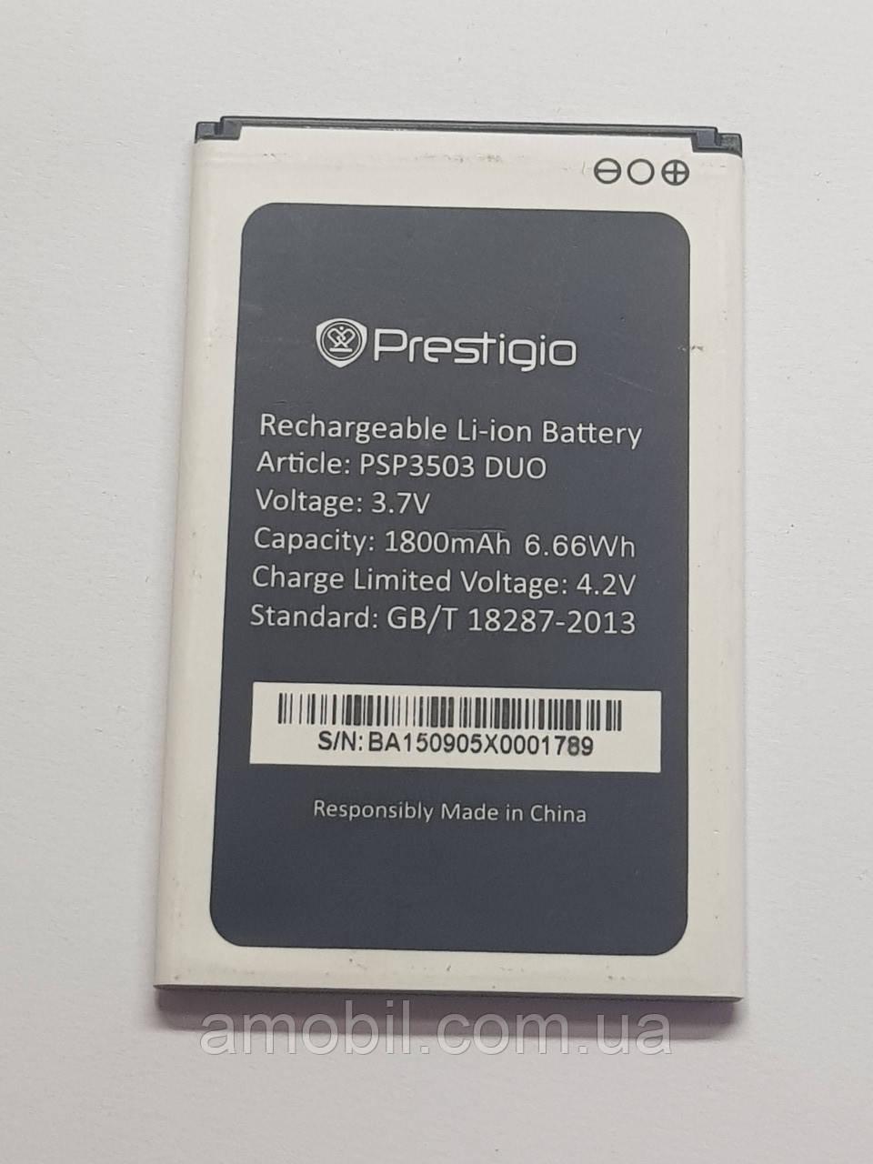 Акумулятор Prestigio PSP3503 DUO orig б.у