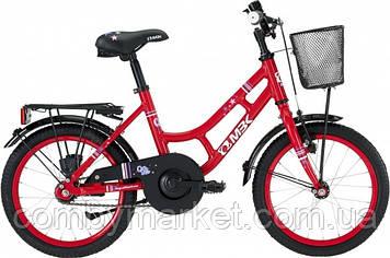 """Детский велосипед MBK Girl Style красный 16"""" от 3,5 лет"""
