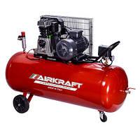 Поршневой компрессор с ременным приводом 200л, 510л/мин, 380В, 3кВт AIRKRAFT AK200-510-380