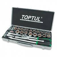 """Комбинированный набор инструментов TOPTUL 1/2"""" (дюйм+метр.) 43ед. GCAD4303"""