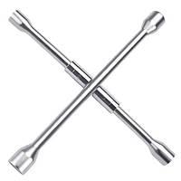 Ключ баллонный крест 17*19*21*22 мм складной TOPTUL AEAQ2214
