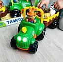 Дитячий трактор с прицепом Limo toy, фото 2