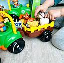 Дитячий трактор с прицепом Limo toy, фото 3
