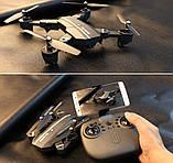 Складной квадрокоптер-трансформер с камерой RC 8807 HD WiFi Портативный Легкоуправляемый дрон, фото 7