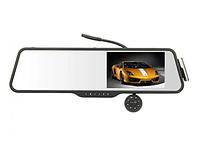 """Видеорегистратор Зеркало DVR LS516 - Full HD 5"""" Экран + Bluetooth гарнитура + Камера Заднего Вида"""