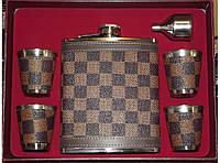 Набор с флягой в шахматку алNF4-8