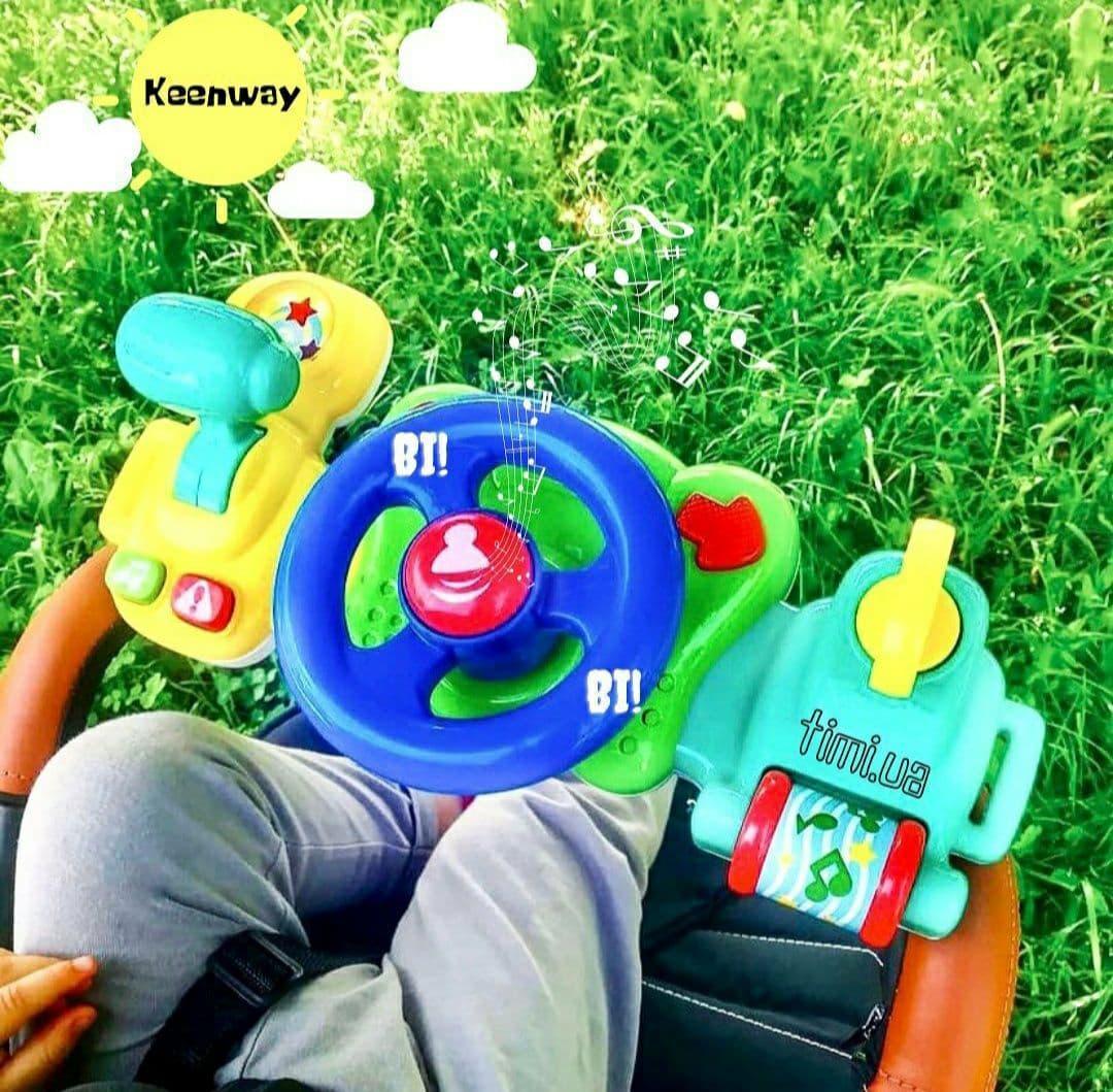 Музичний кермо на коляску - Моє перше водіння