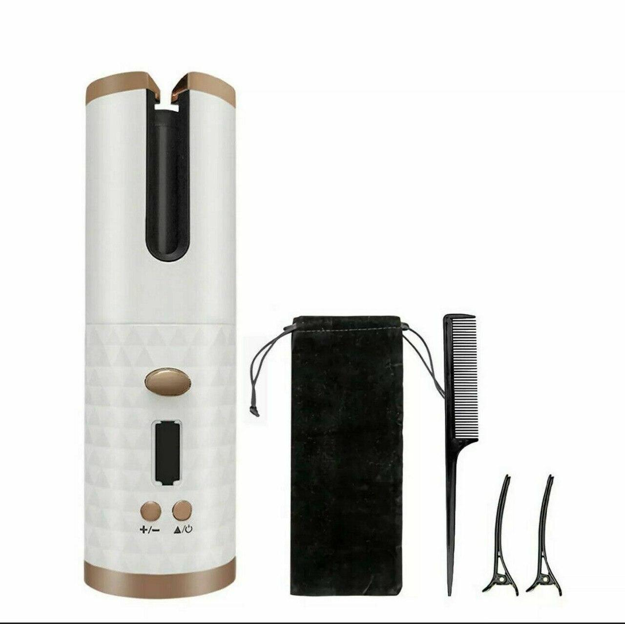 Беспроводной стайлер для завивки и укладки Ramindong Hair curler RD-060 | Автоматическая плойка | Автобигуди