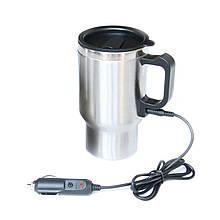 Авто-кружка с подогревом, чашка-кипятильник Electric Mug, 350 мл, автомобильная термокружка от прикуривателя