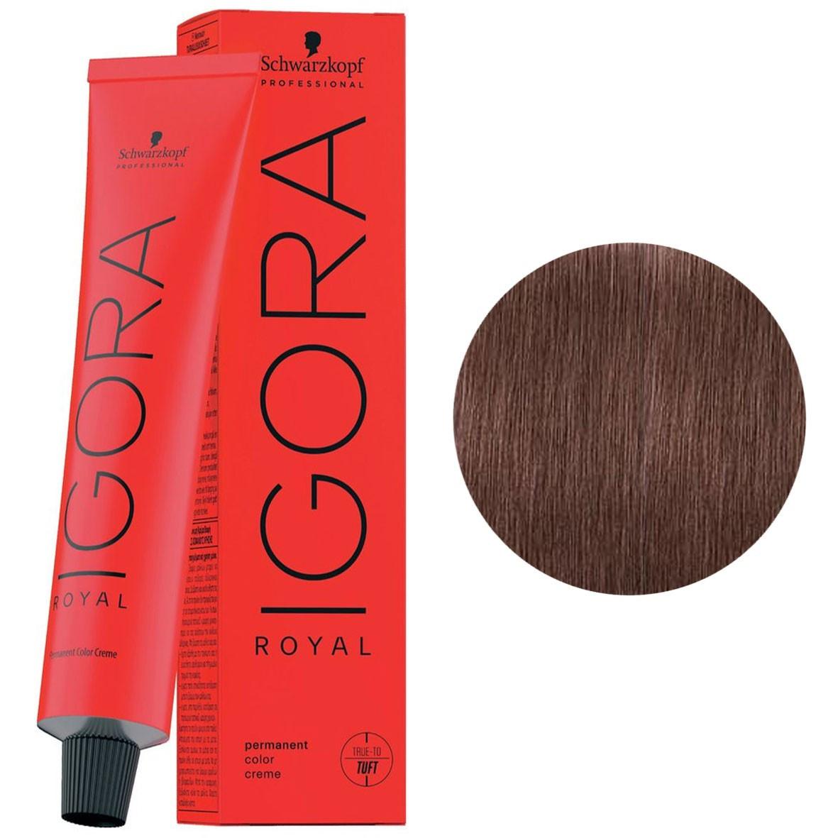 Фарба для волосся 7-48 Schwarzkopf Igora Royal середньо-русявий бежево-червоний 60 мл