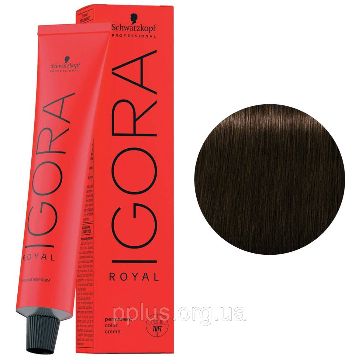 Фарба для волосся 4-46 Schwarzkopf Igora Royal середньо-коричневий бежевий шоколадний 60 мл