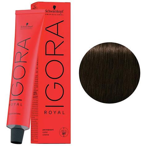 Фарба для волосся 4-46 Schwarzkopf Igora Royal середньо-коричневий бежевий шоколадний 60 мл, фото 2