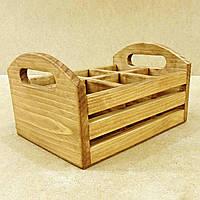 """Підставка для столових приладів """"Лекко"""" сієна, фото 1"""