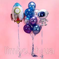 Шарики для детей на день рождения в стиле космос