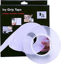 Многоразовая липкая лента ivy grip tape 3 метра ZV