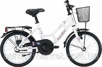 """Детский велосипед MBK Girl Style белый 16"""" от 3,5 лет"""