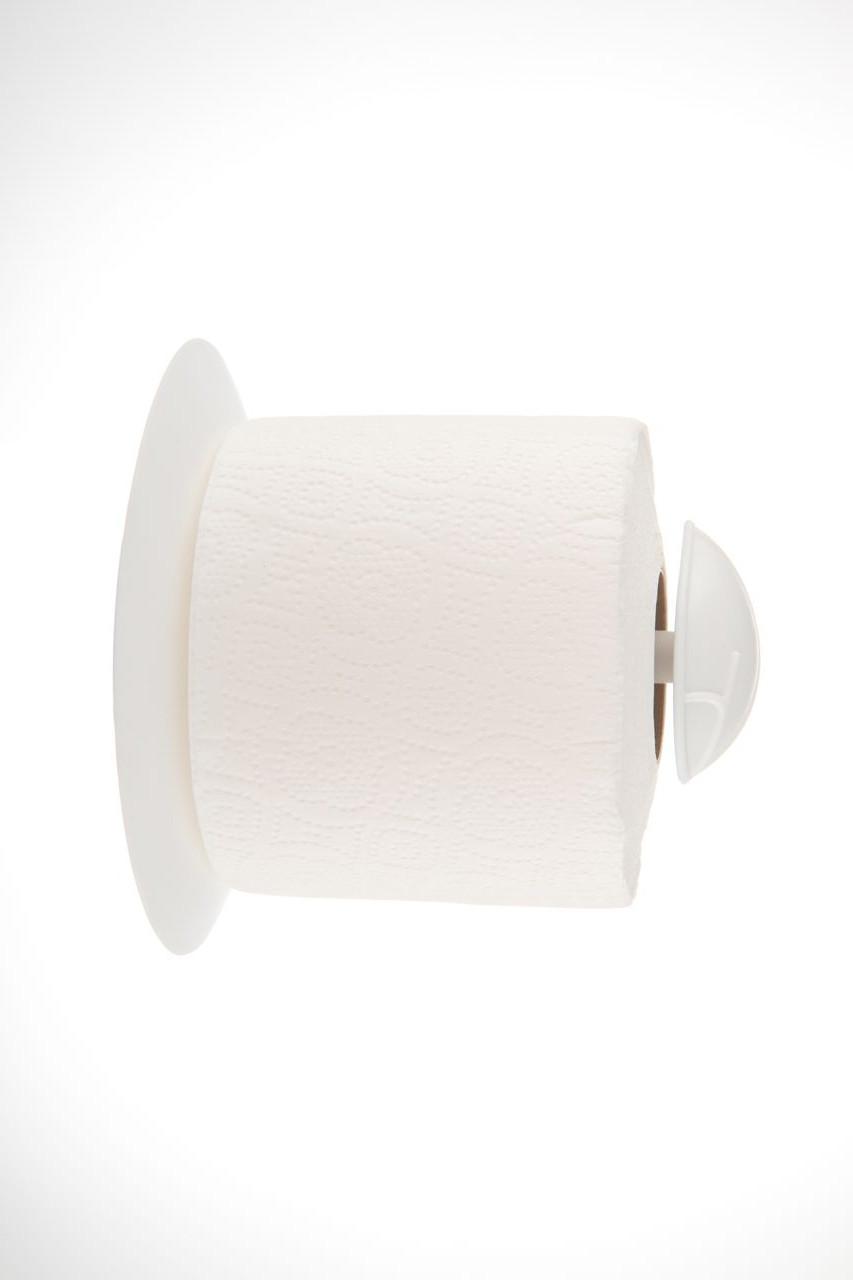 Тримач для туалетного паперу Есо сніжно-білий (АС 34801000)