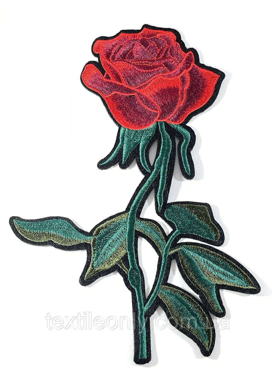 Нашивка троянда 155х225 мм