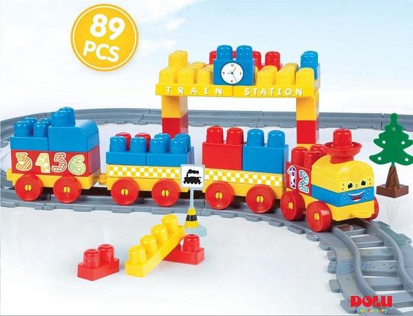 Залізниця DOLU 89 деталей (5082)