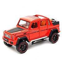 Іграшкова машинка Мерседес-Бенц «Автопром», червоний, світлові і звукові ефекти, 21*10*9 см (7579), фото 2
