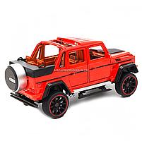 Іграшкова машинка Мерседес-Бенц «Автопром», червоний, світлові і звукові ефекти, 21*10*9 см (7579), фото 3