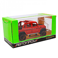 Іграшкова машинка Мерседес-Бенц «Автопром», червоний, світлові і звукові ефекти, 21*10*9 см (7579), фото 6