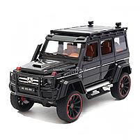 Игрушечная машинка металлическая Mercedes-Benz «Автопром», черный Гелендваген, Гелик, 21*11*10 см, (7578), фото 2