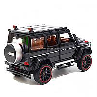 Игрушечная машинка металлическая Mercedes-Benz «Автопром», черный Гелендваген, Гелик, 21*11*10 см, (7578), фото 3