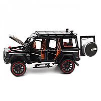 Игрушечная машинка металлическая Mercedes-Benz «Автопром», черный Гелендваген, Гелик, 21*11*10 см, (7578), фото 6