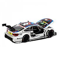 Іграшкова машинка металева «BMW M4 DTM», Автопром, біла, від 3 років, 5*20*8 см, (68256), фото 4