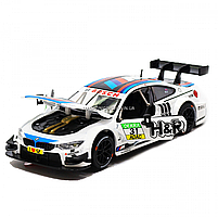 Іграшкова машинка металева «BMW M4 DTM», Автопром, біла, від 3 років, 5*20*8 см, (68256), фото 5