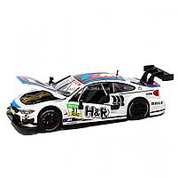 Іграшкова машинка металева «BMW M4 DTM», Автопром, біла, від 3 років, 5*20*8 см, (68256), фото 6