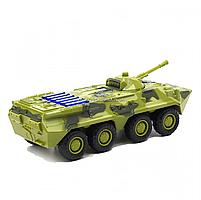 Іграшкова машинка металева «БРДМ», Автопром, зелений, від 3 років, 5*13*5 см, (6409), фото 2